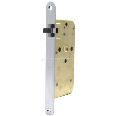 Insteekslot 104K Loop Rechts 40/8mm Messing Matchroom drie-delige anti-rammel schoot
