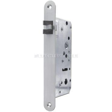 Insteekslot Loop, Din Ls, 55/9mm, driedelige anti-rammel dagschoot Rvs geborsteld small