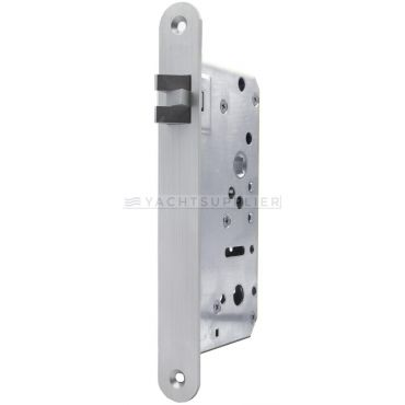 Insteekslot Loop, din Ls, 65/9mm, driedelige anti-rammel dagschoot Rvs geborsteld small