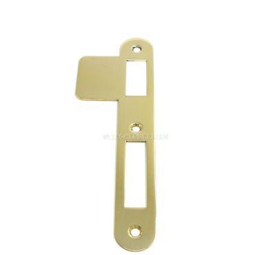 Sluitplaat 180x25x1,5 mm pc/klavier/wc DIN Ls per stuk Messing gepolijst small