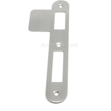 Sluitplaat 180x25x1,5 mm pc/klavier/wc DIN Rs per stuk Rvs geborsteld small