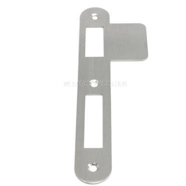 Sluitplaat 180x25x1,5 mm pc/klavier/wc DIN Ls per stuk Rvs geborsteld small