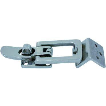 Spansluiting Rvs 316 80x28mm met Hoeksluitplaat Buiten  small