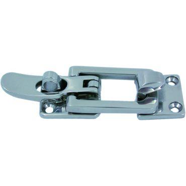 Spansluiting Rvs 316 met rechte sluitplaat 75x28mm
