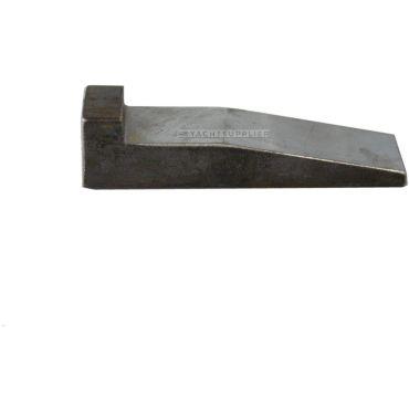 Oploopspie met nok Staal 80x20mm small