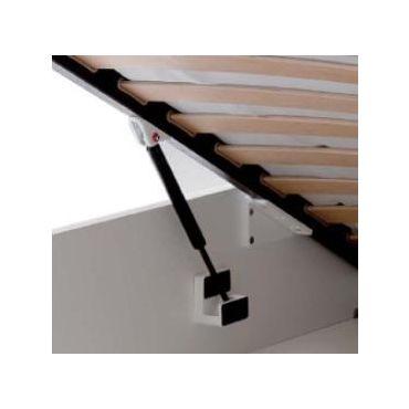 Tip-up Bedklap-beslag set 500N small