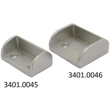 Sluitkom klein 35x20mm tbv flush oplegslot   Alu small