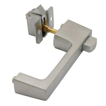 Deurgreep met snapslot, deurdikte 14-22mm Rvs geborsteld small