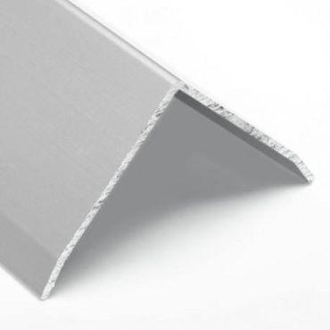 Hoekprofiel Alu geandodiseerd 30x30x2mm Ronde hoek buiten 5000mm small