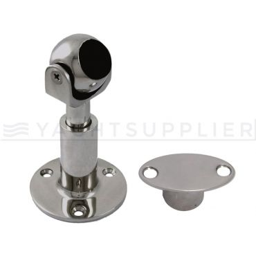 Deurvastzetter magnetisch en verstelbaar Rvs 316 incl. flush tegenplaat small