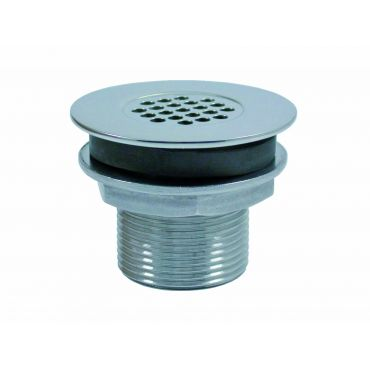 Water afvoer 1 inch draad B 50mm C 45mm Rvs 316 small