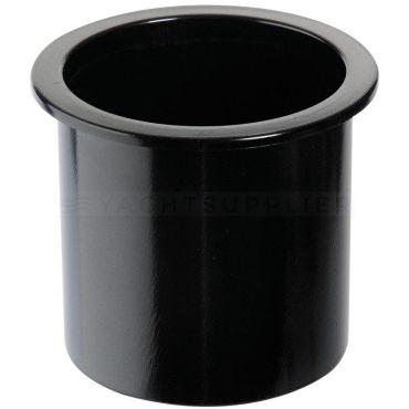 Bekerhouder Zwart kunststof inbouw Boormaat : 86mm Hoogte : 75mm
