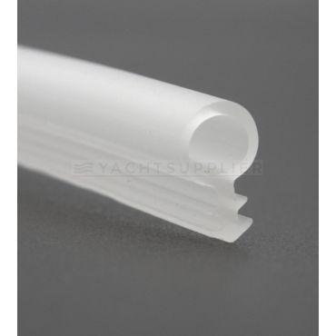 Deuraanslagprofiel Transparant rond Ø 6,0mm Prijs per meter small