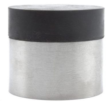 Deurbuffer Rvs geborsteld Ø30mm rond Zwart small