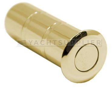 Kantschuif Dustbox Ø17mm Messing gepolijst  small