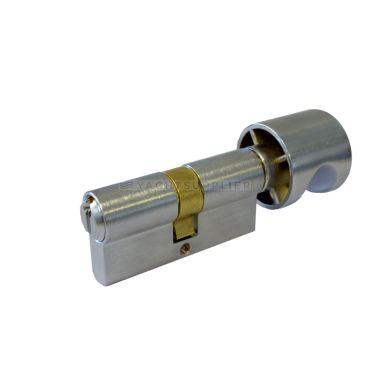 Knopcilinder K26,5/26,5mm Messing Matchroom Zeewaterbestendig met versmalde meenemer small