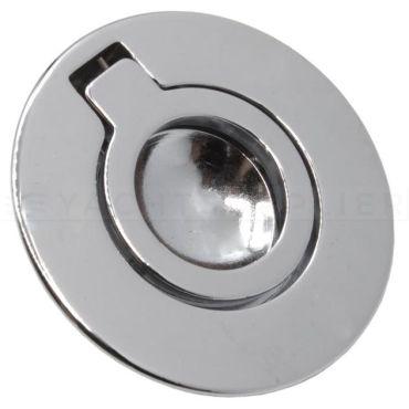 Luikring verchroomd Ø53 mm blinde bevestiging  small