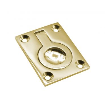 Luikring Messing gepolijst 50x38mm  small