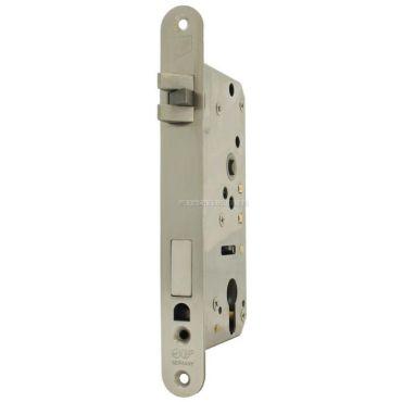 Insteekslot Pc, Din Rs, 55/9/75mm,  driedelige anti-rammel dagschoot Rvs gepolijst small