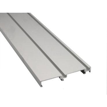 Schuifdeur onderrail dubbel 5 meter Aluminium small