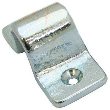 Sluitbeugel tbv pengrendel zwaar model, 10mm stiftdiamter Messing gepolijst small