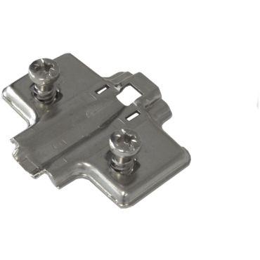 Montageplaat Impro/Invo met voorgemonteerde Euroschroef 6,3x14mm met hoogte verstelling 7mm small