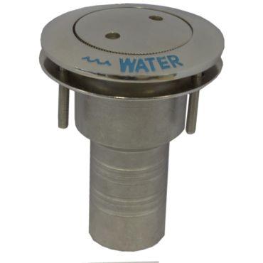 Dek-dop Pop-up Water A Ø38mm D Ø84mm B 102mm Rvs 316 small