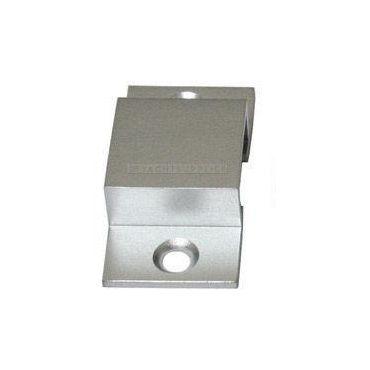 Sluitbeugel tbv profielschuif hoog model Messing mat chroom small