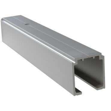 Schuifdeurrail 40/80 Alu F1 3000mm prijs is per lengte