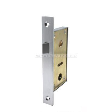 Insteekslot klein Loop 30/7mm Din Ls Messing mat chroom small