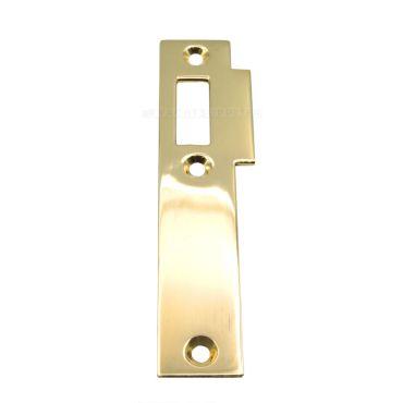 Sluitplaat 106 Loop Links 95x23mm Messing gepolijst