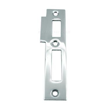 Sluitplaat 106 Wc/Pc Rechts 95x23mm Messing Matchroom S&B 226001.9