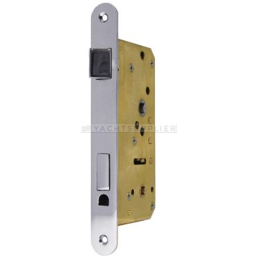Insteekslot Wc, Din Ls, 55/9/75mm Messing mat chroom small